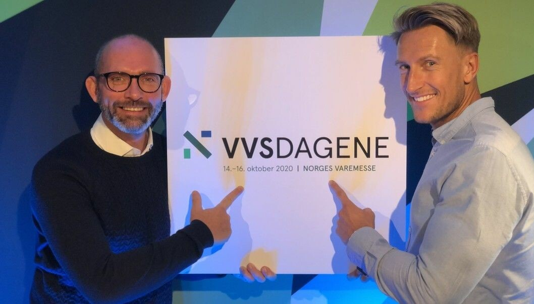 Thor-Jostein Egeland og Henrik Sakshaug i Nemitek er veldig fornøyd med innsalget så langt.